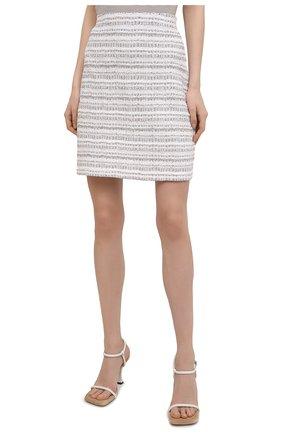 Женская юбка D.EXTERIOR бежевого цвета, арт. 52412 | Фото 3