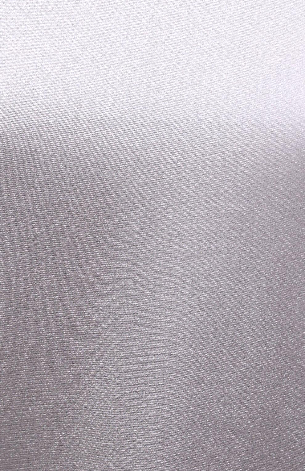 Женский топ из вискозы D.EXTERIOR серого цвета, арт. 52633   Фото 5