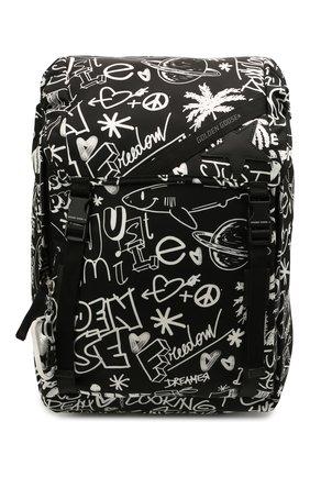 Женский рюкзак GOLDEN GOOSE DELUXE BRAND черного цвета, арт. GMA00147.A000234 | Фото 1