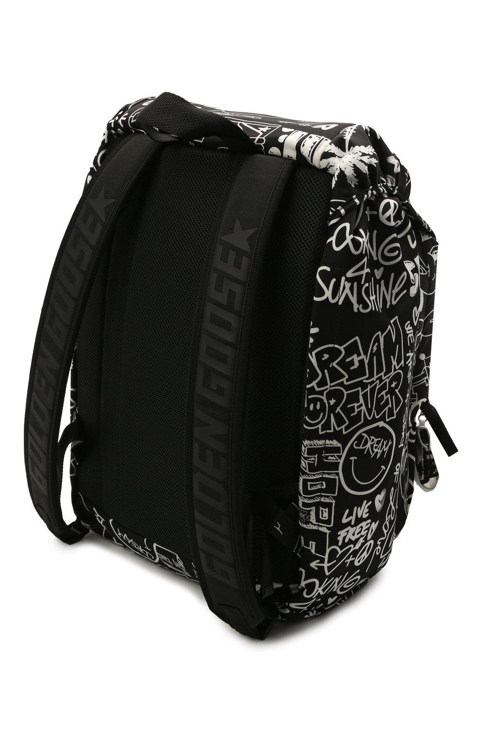 Женский рюкзак GOLDEN GOOSE DELUXE BRAND черного цвета, арт. GMA00147.A000234 | Фото 3