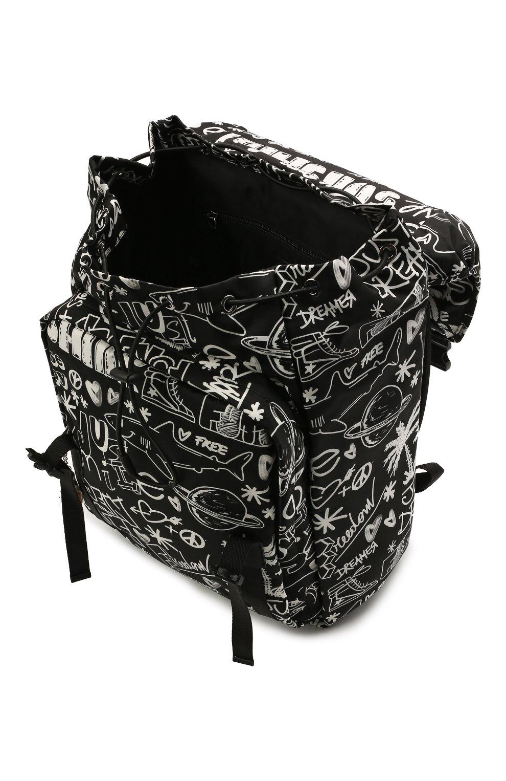Женский рюкзак GOLDEN GOOSE DELUXE BRAND черного цвета, арт. GMA00147.A000234 | Фото 4