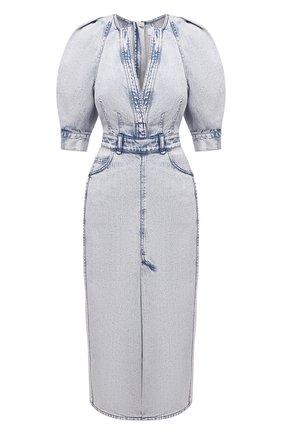 Женское джинсовое платье IRO голубого цвета, арт. WP33ALYSU | Фото 1