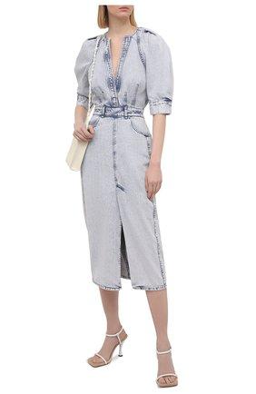 Женское джинсовое платье IRO голубого цвета, арт. WP33ALYSU | Фото 2