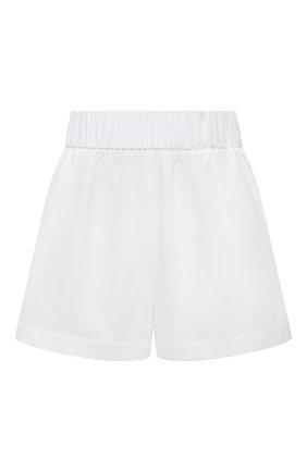 Женские хлопковые шорты REDVALENTINO белого цвета, арт. VR0RFE95/0VU   Фото 1