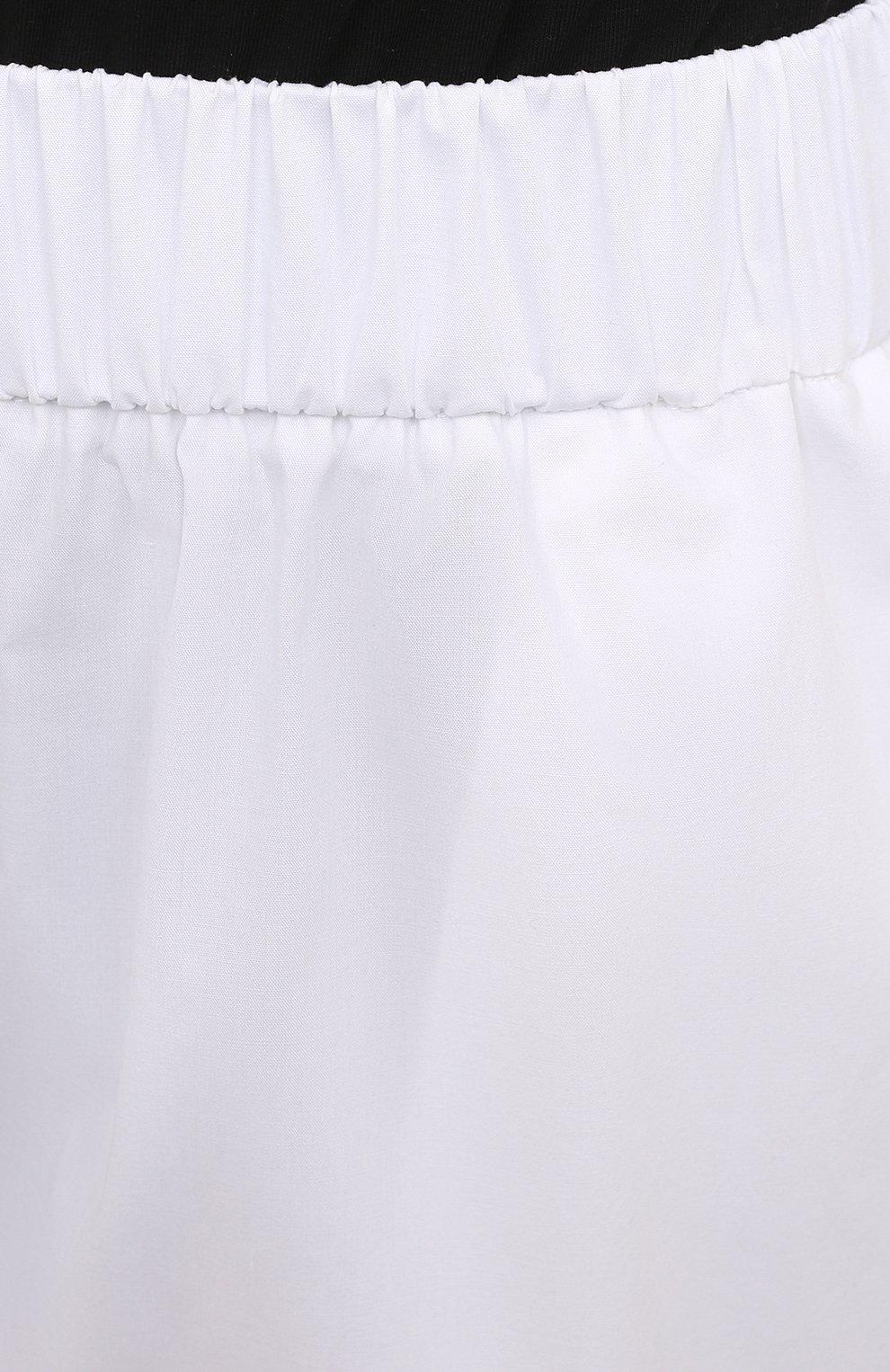 Женские хлопковые шорты REDVALENTINO белого цвета, арт. VR0RFE95/0VU   Фото 5