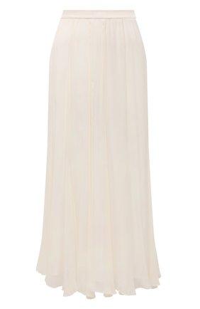 Женская юбка из вискозы POLO RALPH LAUREN бежевого цвета, арт. 211842480 | Фото 1