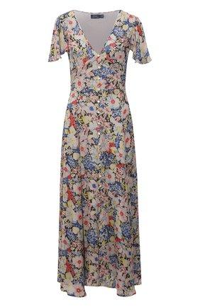 Женское платье из вискозы POLO RALPH LAUREN разноцветного цвета, арт. 211827786   Фото 1