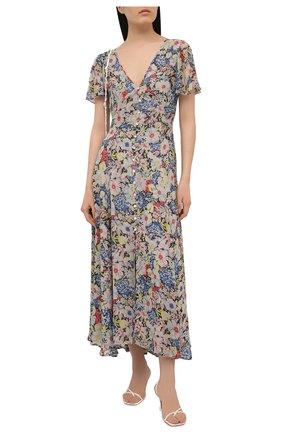Женское платье из вискозы POLO RALPH LAUREN разноцветного цвета, арт. 211827786   Фото 2