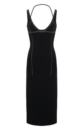 Женское платье JACQUEMUS черного цвета, арт. 211KN36/203990 | Фото 1