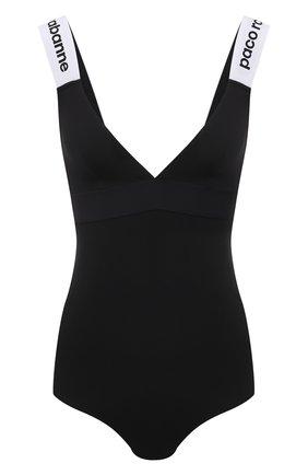 Женское боди PACO RABANNE черного цвета, арт. 19EJB0001VI0148 | Фото 1