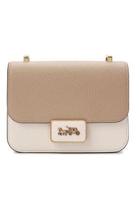 Женская сумка alie COACH бежевого цвета, арт. 4790   Фото 1