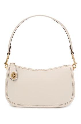 Женская сумка swinger COACH кремвого цвета, арт. C0638   Фото 1