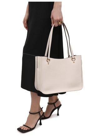 Женский сумка tyler COACH светло-бежевого цвета, арт. C2273   Фото 2
