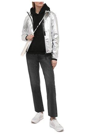 Женские кожаные кроссовки billie MICHAEL MICHAEL KORS белого цвета, арт. 43R1BIFS2L | Фото 2