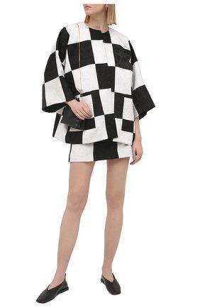 Женский жакет DOLCE & GABBANA черно-белого цвета, арт. F26CCT/GDX76 | Фото 2