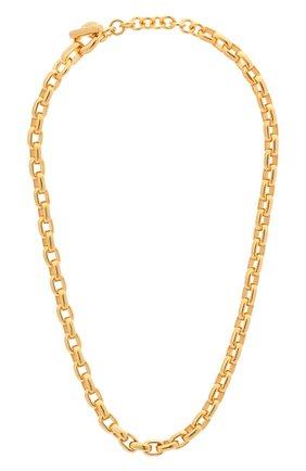 Женское колье BOTTEGA VENETA золотого цвета, арт. 649230/VAHU0 | Фото 1