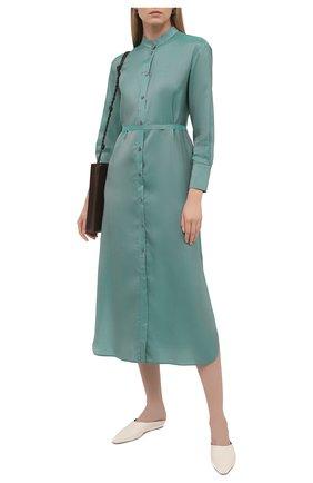 Женское платье из вискозы TELA бирюзового цвета, арт. 01 0158 01 0013 | Фото 2