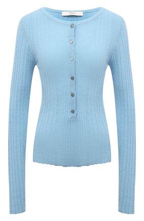 Женский пуловер TELA голубого цвета, арт. 07 T144 B2 2403 | Фото 1