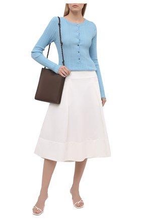 Женский пуловер TELA голубого цвета, арт. 07 T144 B2 2403 | Фото 2