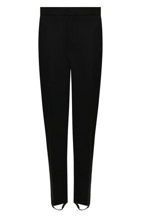 Женские брюки со штрипками WARDROBE.NYC черного цвета, арт. W2015R05 | Фото 1