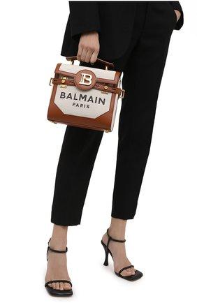Женская сумка bbuzz 23 BALMAIN коричневого цвета, арт. VN0DB530/TCFN | Фото 2