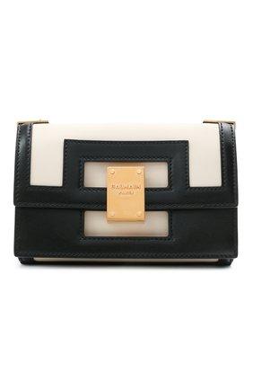 Женская сумка 1945 small BALMAIN черно-белого цвета, арт. VN0BJ605/LMSX | Фото 1