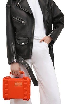 Женская сумка HERON PRESTON оранжевого цвета, арт. HWNN001R21PLA0012222   Фото 2