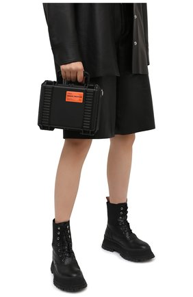 Женская сумка HERON PRESTON черного цвета, арт. HWNN001R21PLA0011010 | Фото 2