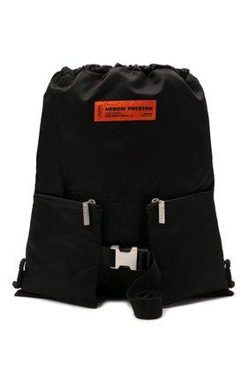 Женский рюкзак HERON PRESTON черного цвета, арт. HWNB007R21FAB0011000   Фото 1