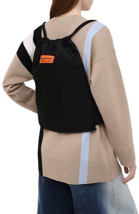 Женский рюкзак HERON PRESTON черного цвета, арт. HWNB007R21FAB0011000   Фото 2