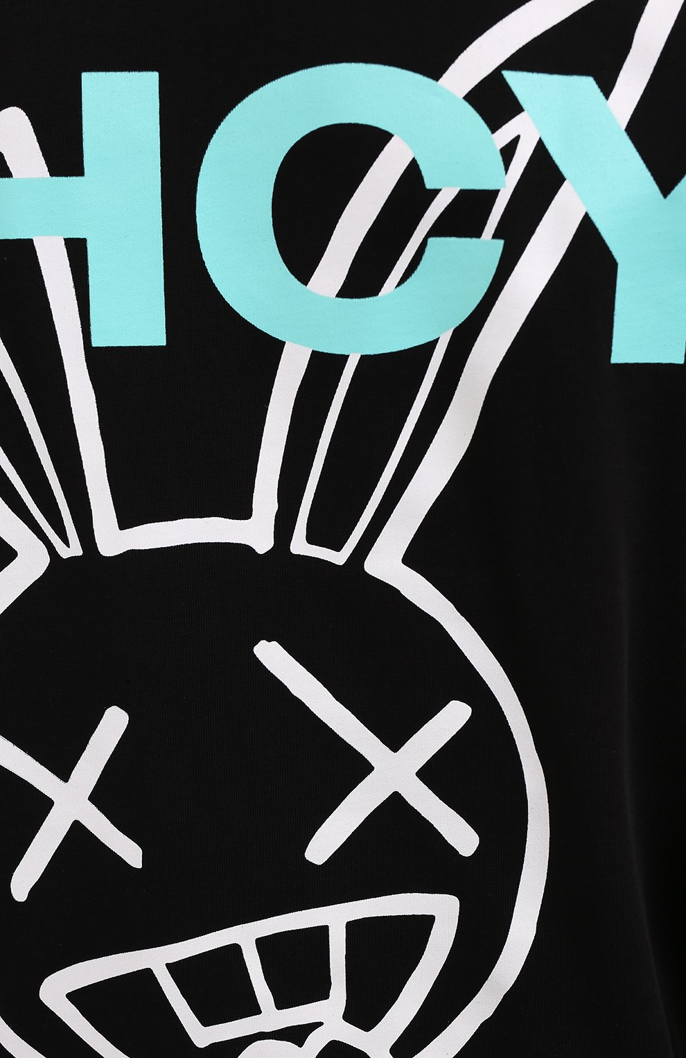Мужская хлопковая футболка PHARMACY INDUSTRY черного цвета, арт. PHM216   Фото 5