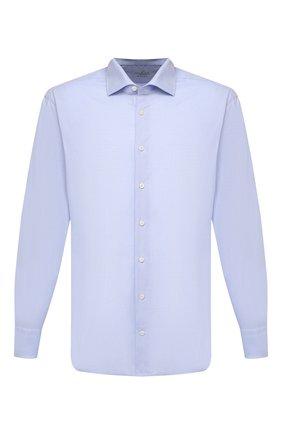 Мужская хлопковая сорочка VAN LAACK голубого цвета, арт. RIVARA-TF/150157 | Фото 1