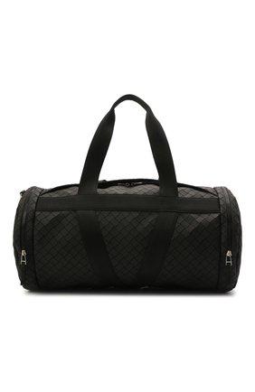 Мужская дорожная сумка BOTTEGA VENETA черного цвета, арт. 651729/V0GK1 | Фото 1