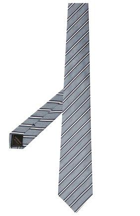 Галстук из шелка и льна | Фото №2
