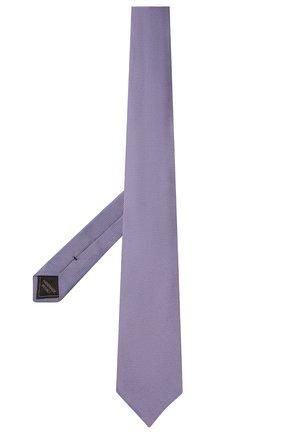 Мужской шелковый галстук BRIONI сиреневого цвета, арт. 062I00/09459 | Фото 2