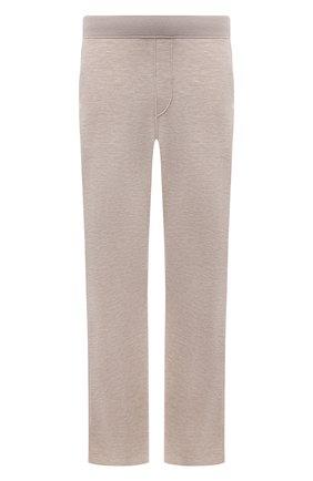Мужские брюки из кашемира и шелка BRIONI бежевого цвета, арт. UMIL0L/P0K03 | Фото 1