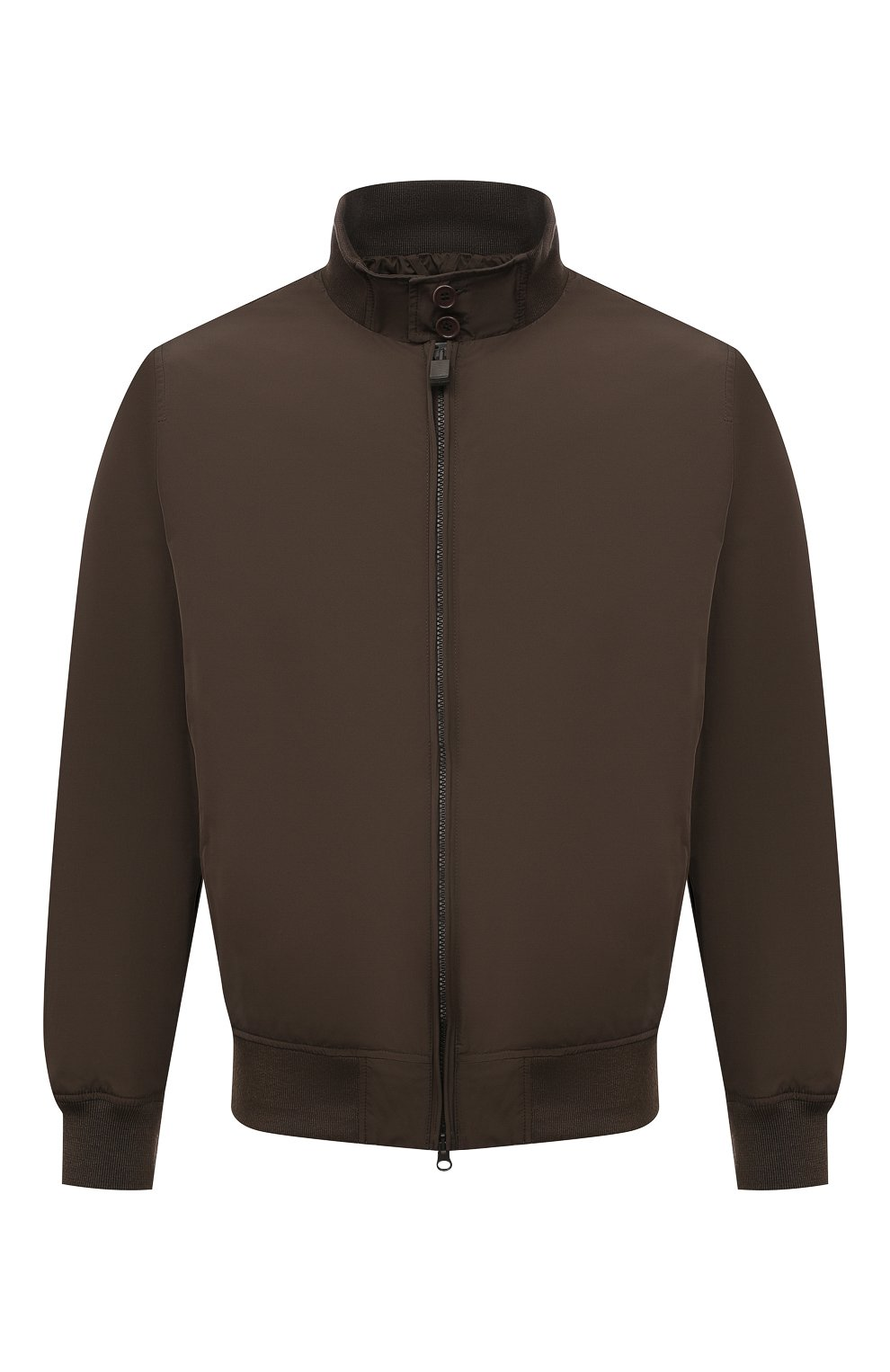 Мужской бомбер ASPESI хаки цвета, арт. S1 I I918 G703 | Фото 1 (Кросс-КТ: Куртка; Рукава: Длинные; Принт: Без принта; Материал внешний: Синтетический материал; Материал подклада: Синтетический материал; Длина (верхняя одежда): Короткие; Стили: Кэжуэл)