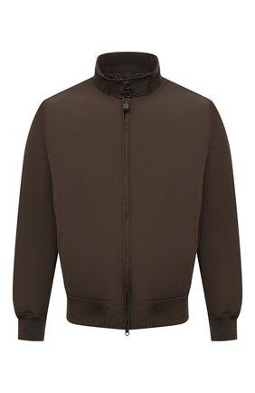 Мужской бомбер ASPESI хаки цвета, арт. S1 I I918 G703 | Фото 1 (Материал подклада: Синтетический материал; Длина (верхняя одежда): Короткие; Принт: Без принта; Материал внешний: Синтетический материал; Рукава: Длинные; Стили: Кэжуэл; Кросс-КТ: Куртка)