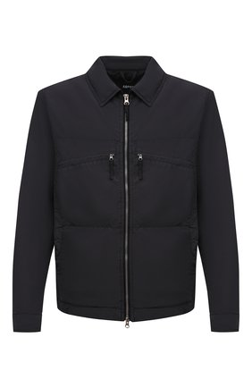 Мужская утепленная куртка ASPESI серого цвета, арт. S1 I I112 F973 | Фото 1 (Кросс-КТ: Куртка; Материал внешний: Синтетический материал; Рукава: Длинные; Стили: Кэжуэл; Длина (верхняя одежда): Короткие; Материал подклада: Синтетический материал; Мужское Кросс-КТ: утепленные куртки)