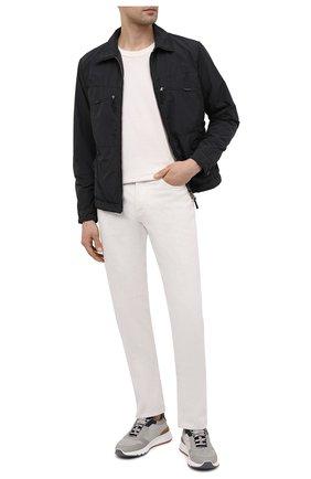 Мужская утепленная куртка ASPESI серого цвета, арт. S1 I I112 F973 | Фото 2 (Кросс-КТ: Куртка; Материал внешний: Синтетический материал; Рукава: Длинные; Стили: Кэжуэл; Длина (верхняя одежда): Короткие; Материал подклада: Синтетический материал; Мужское Кросс-КТ: утепленные куртки)