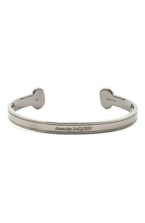 Мужской браслет ALEXANDER MCQUEEN серебряного цвета, арт. 650848/J160K | Фото 2
