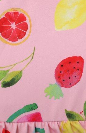 Детского слитный купальник SNAPPER ROCK розового цвета, арт. G13214 | Фото 3