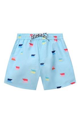 Детские плавательные шорты SNAPPER ROCK голубого цвета, арт. B90088   Фото 1