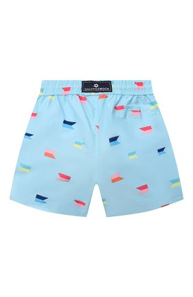 Детские плавательные шорты SNAPPER ROCK голубого цвета, арт. B90088   Фото 2