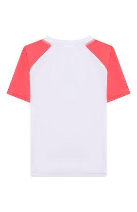 Детская пляжная футболка SNAPPER ROCK белого цвета, арт. B10117S   Фото 2