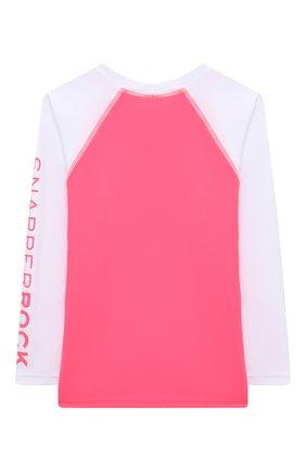 Детская пляжный лонгслив SNAPPER ROCK розового цвета, арт. G20065L   Фото 2
