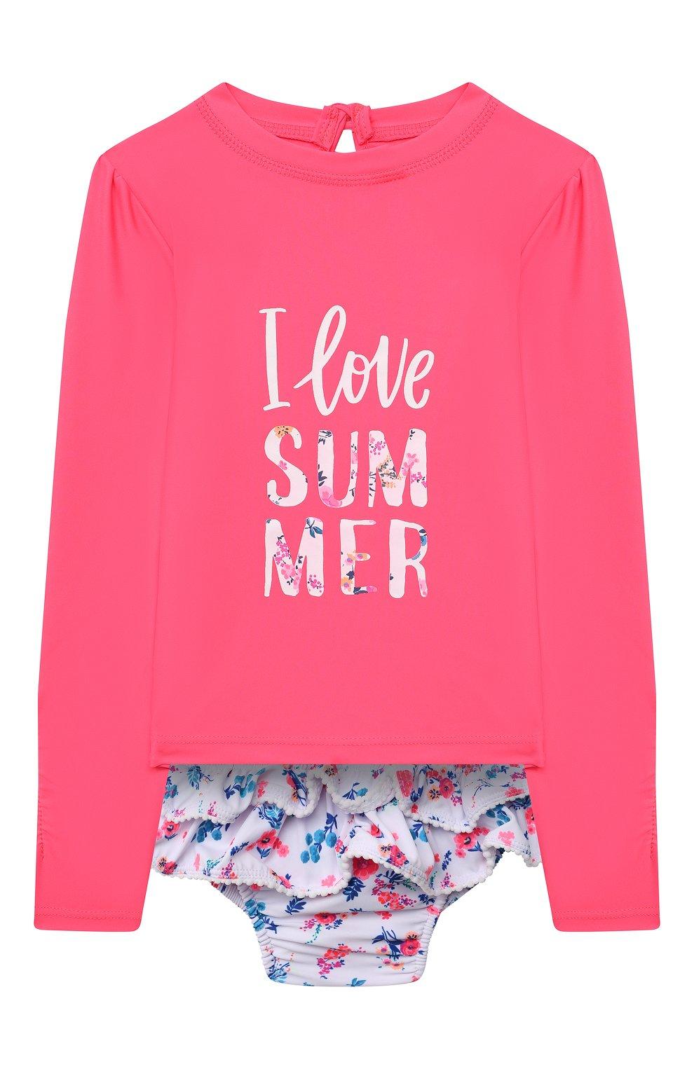 Детского комплект для плавания SNAPPER ROCK розового цвета, арт. G52010L   Фото 1