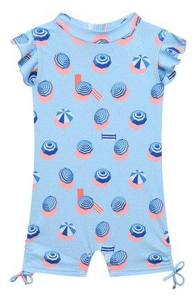 Детского комбинезон для плавания SNAPPER ROCK голубого цвета, арт. G70810S | Фото 1