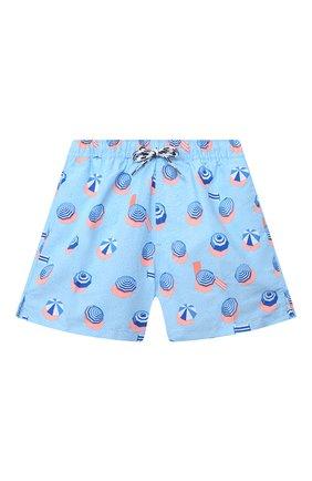 Детские плавательные шорты SNAPPER ROCK голубого цвета, арт. B90083   Фото 1