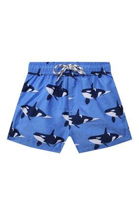 Детские плавательные шорты SNAPPER ROCK голубого цвета, арт. B90090   Фото 1